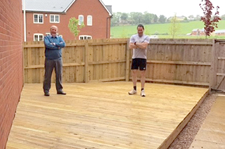 Timber Decking Devon