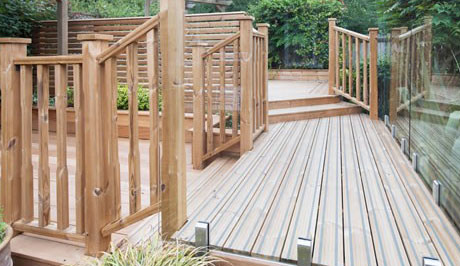 Non Slip Decking Exeter