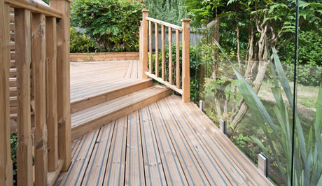 Non Slip Decking Devon