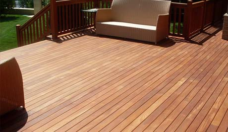 Iroko Hardwood Decking Exmouth