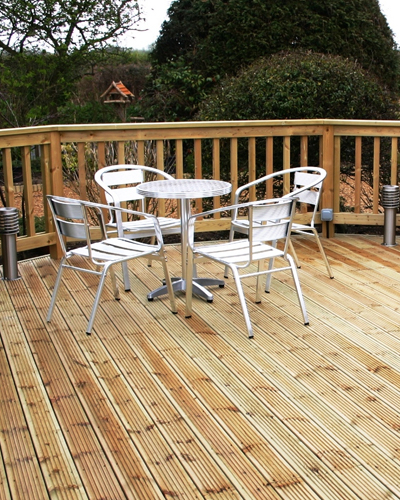 Softwood Decking Exeter